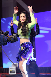 Sunny Leone Dancing on stage At Rogue Movie Audio Music Launch ~  328.JPG
