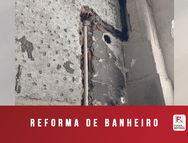 Reforma hidráulica em Banheiro RJ