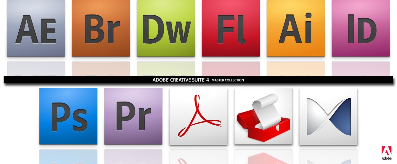 Software para tu PC: Adobe CS4,5,6, CC All Products