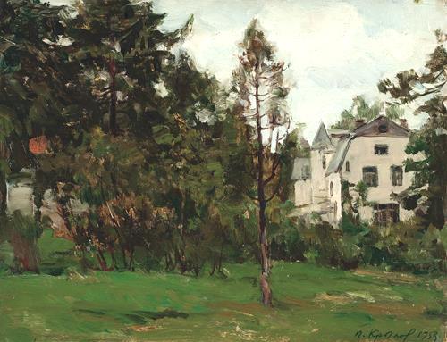 КРЫЛОВ Порфирий, Музей Василия Поленова,  1953