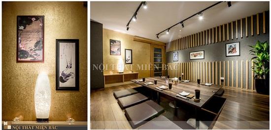 Nhà thầu thi công nội thất nhà hàng Nhật chuyên nghiệp tại Hà Nội