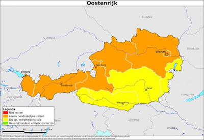 هولندا تُحذر من السفر إلى بورتو وأجزاء من النمسا وسويسرا