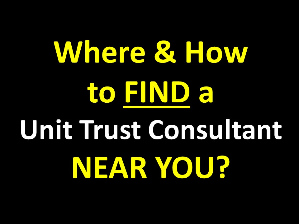 a unit trust consultant What are the questions to ask when investing in unit trust or more importantly, the questions to ask before investing as an independent financial adviser ( check out my client's testimonials here and how i construct an investment portfolio for clients ), i propose the no-hold barred investment questions to ask , below.