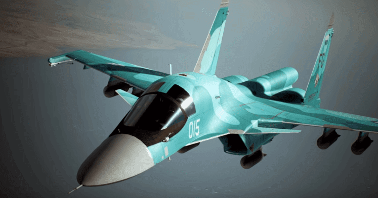 Ace Combat 7: Skies Unknown Aircraft Su-34 Trailer