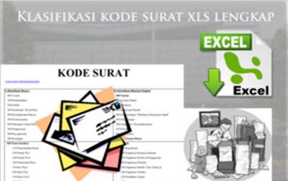 Nomor Indeks Surat Dinas Sekolah Download Klasifikasi Kode Surat Dinas Xls Lengkap 2017