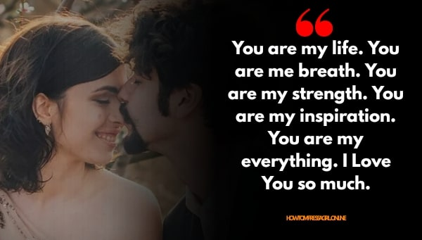 Love Quotes for Him Status