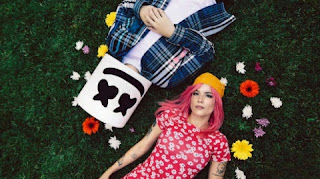 Marshmello recruits Halsey to assure new song Be Kind.