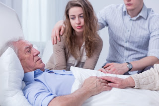 Caring for aging parent