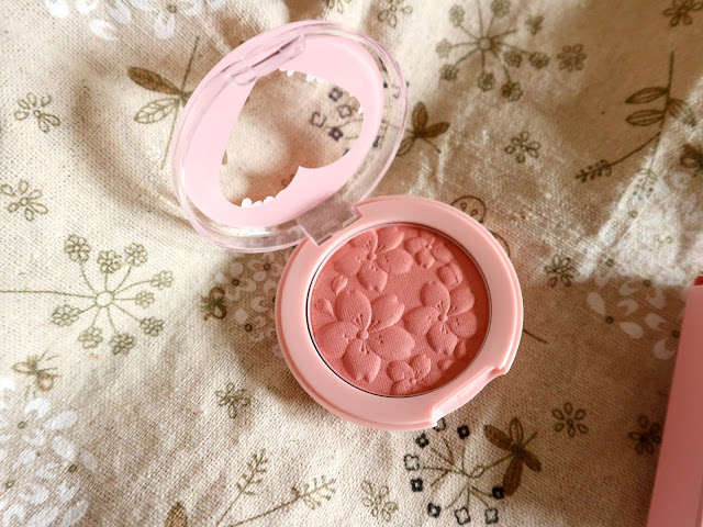 Etude House propose une teinte appelée My Little Blossom pour sa collection Heart Blossom 2020.