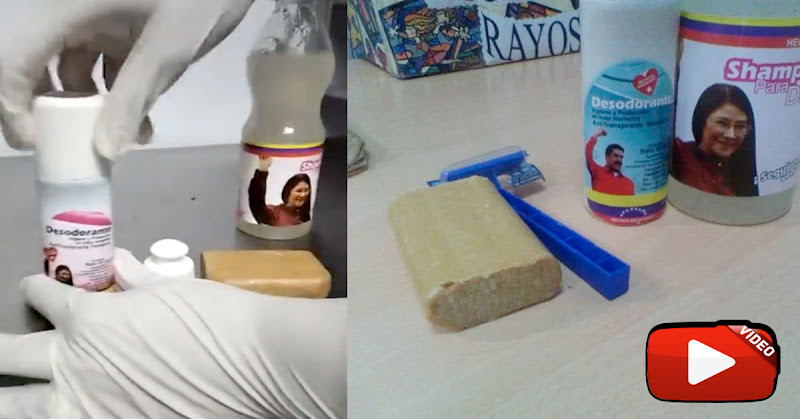 Kit de higiene ofrecido por Maduro al sector salud huele muy mal