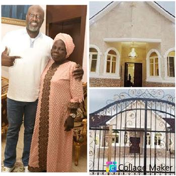 Senator Dino Melaye Builds Chapel In Honour Of Late Mum - Photos