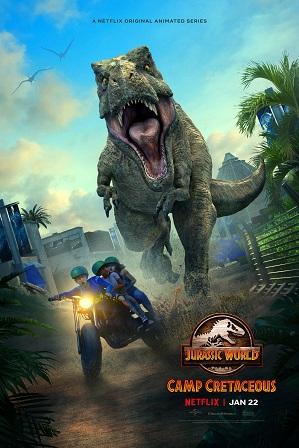Jurassic World: Camp Cretaceous Season 2 Full Hindi Dual Audio Download 480p 720p All Episodes [Netflix Series]