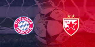 مشاهدة مباراة النجم الاحمر و بايرن ميونيخ ٢٦-١١-٢٠١٩ بث مباشر .