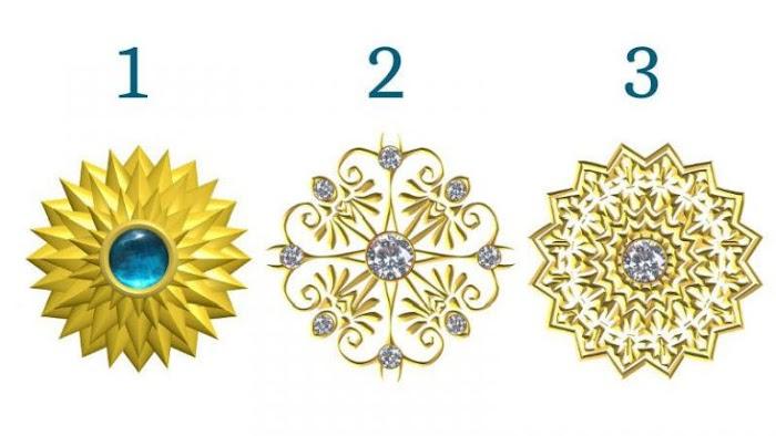 Выберите одну золотую кристаллическую мандалу, чтобы получить послание от своего Высшего Я