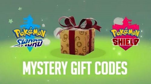 Pokemon Sword & Shield Mystery Gift Codes