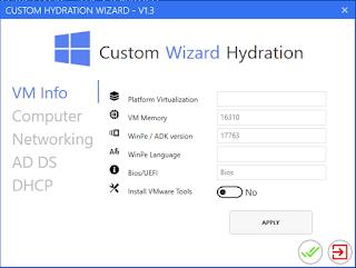 Custom Wizard Hydration WPF