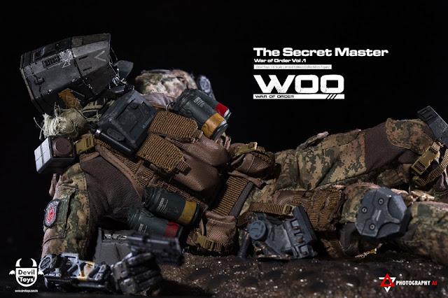 OSR: Devil Toys: War of Order: Vol 1 - The Secret Master 1/6