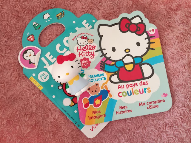 je colle je colorie magazine et hello kitty magazine mon premier journal