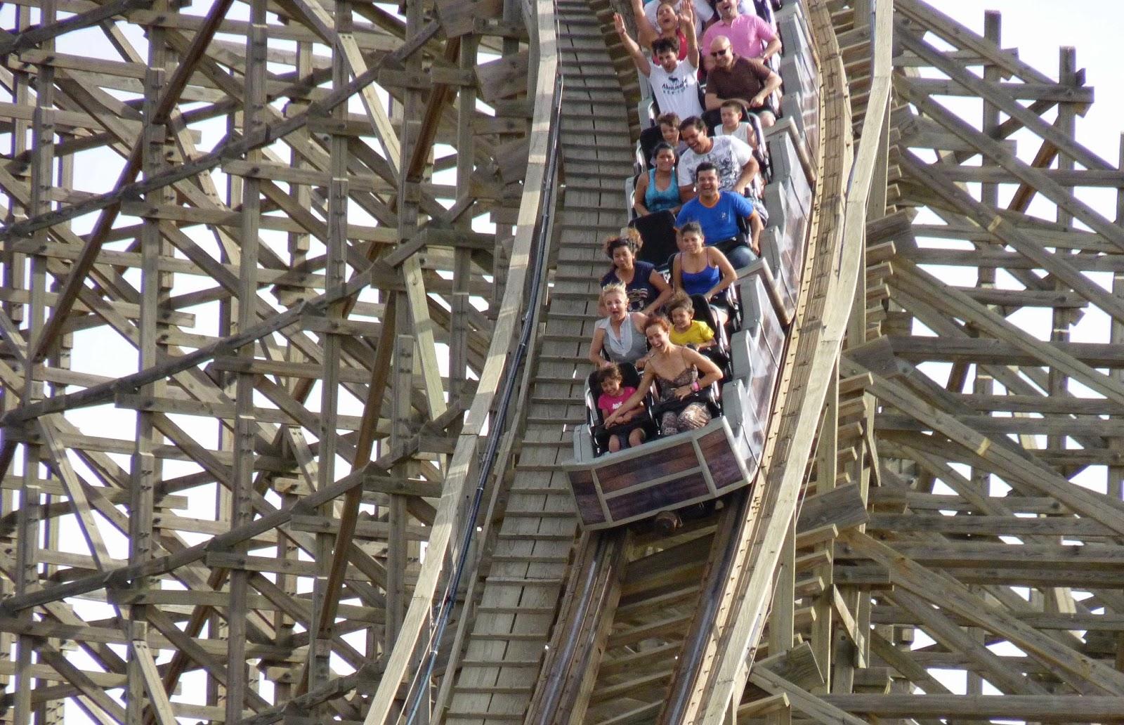 Montaña rusa Coaster Express.
