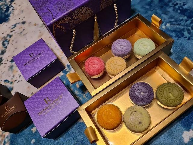 Moon Cake Halal perisa buah-buahan dari Renaissance Hotel JB
