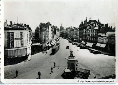 Photo ancienne de Clermont-Ferrand place Gaillard