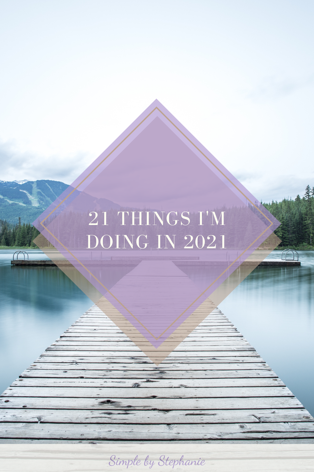 21 Things I'm Doing in 2021