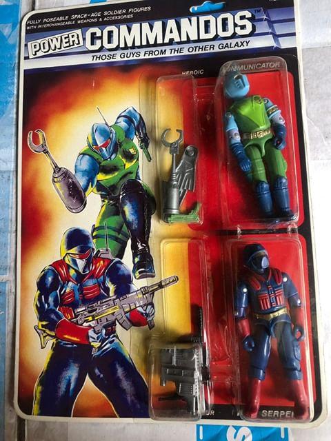Lucky Bell, Power Commandos, Mummy Mask, Submarine, Metal Hawk, X Ray Eye, Condor Strike, Red Raven, Lynx Eye Jack, Laser Cut, Communicator, Nite Serpent, Sniper, Sound Speed, MOC, Variants