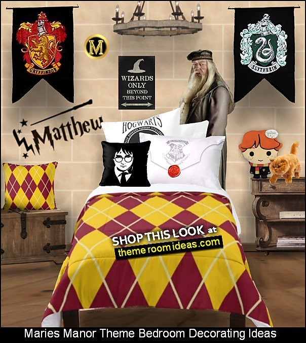 Harry Potter wall Banners harry potter bedding  izarding World of Harry Potter