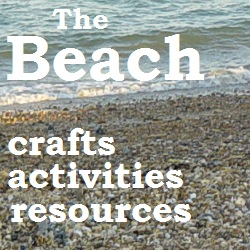 Beach crafts, activities and resources