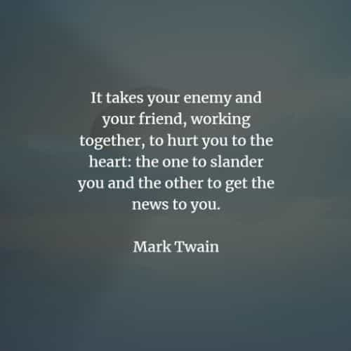 Famous quotes and sayings by Mark Twain