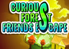 Mirchi Games - Curious Forest Friends Escape