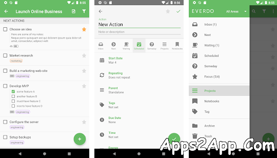 Everdo: to-do list and GTD® app Pro APK v1.0-2 Cracked [Latest]