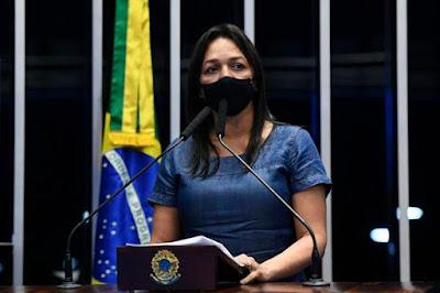 Eliziane Gama destaca queda de óbitos pela Covid-19 no país