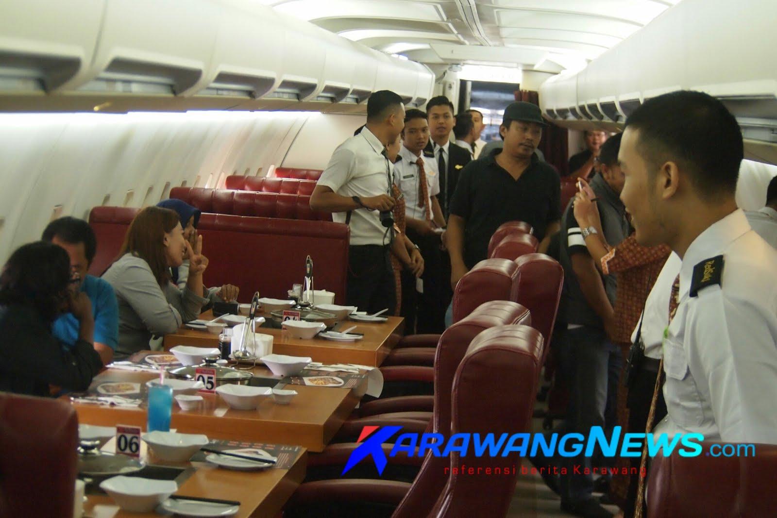 Sensasi Makan Steak Dan Suki Di Dalam Pesawat Karawangnews
