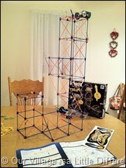 The K'Nex Cosmic Twist Coaster