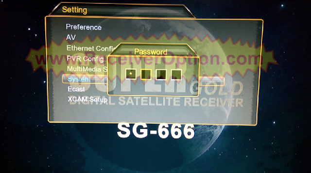 SUPER GOLD SG-666 HD RECEIVER 1507G & 1506G NEW SOFTWARE