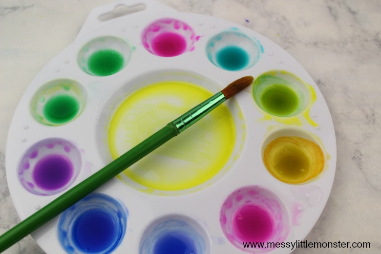 homemade watercolor paint recipe