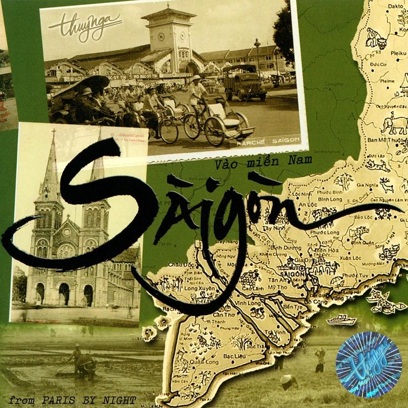 Thúy Nga CD424 - Sài Gòn (NRG) + bìa scan mới