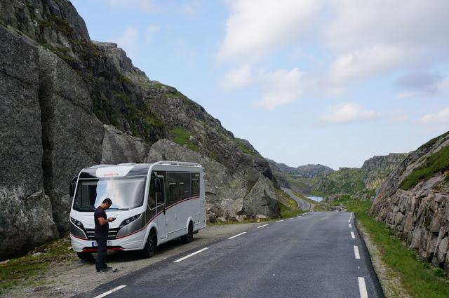 pernoite grátis no nosso roteiro pela Noruega