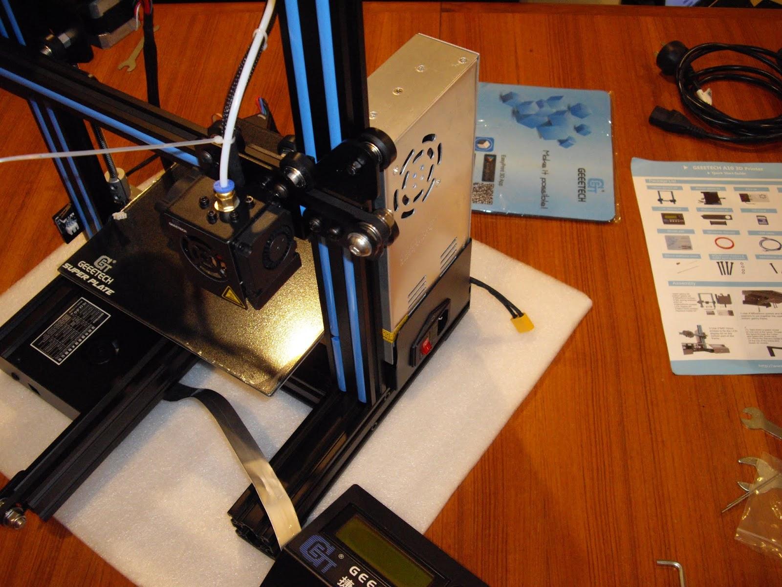 PEZZER'S 3D PRINTER BLOG: GeeeTech A10 Review