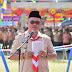 Kwarcab Pramuka Kota Gunungsitoli Gelar Apel Besar Hari Pramuka Ke-58