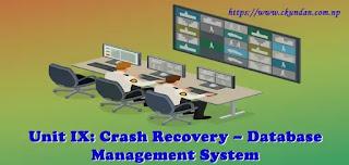 Crash Recovery – Database Management System