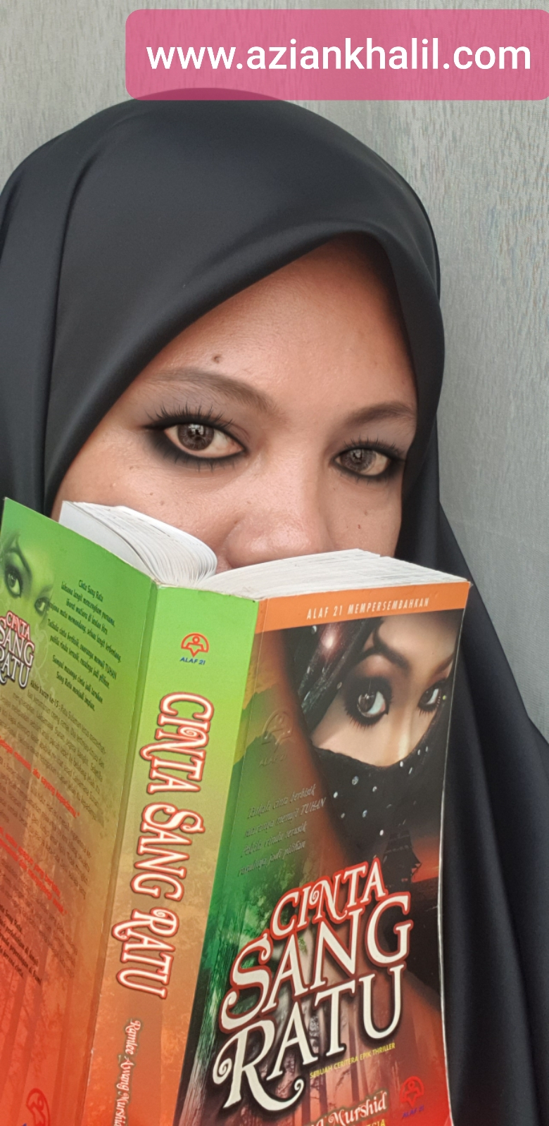 MY Review : Novel ' Cinta Sang Ratu'
