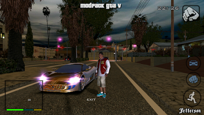 GTA SA Lite HD Mod Apk Data
