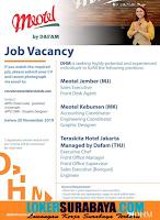 Job Vacancy at Dafam Hotel Surabaya November 2019