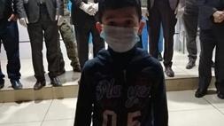 خبر سار : بالصورة تعافي طفل مصاب بفيروس كورونا في كركوك؟
