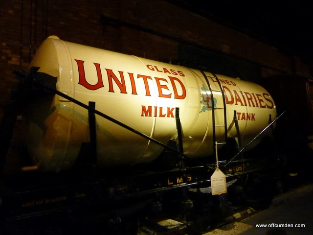 United dairies train carriage