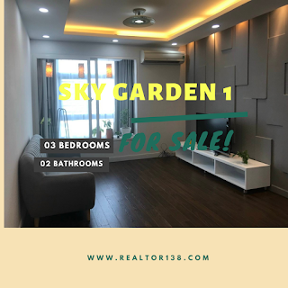 bán căn hộ 3 phòng ngủ sky garden 1 pmh