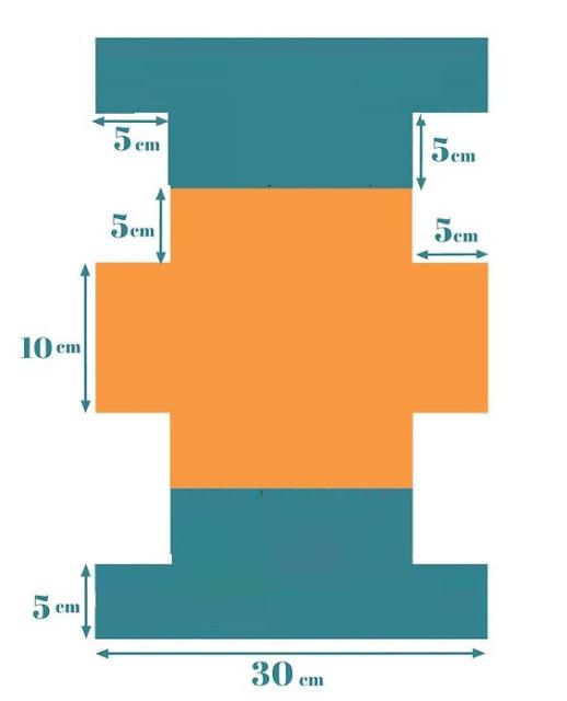 طريقة خياطة مقلمة - شنطة او تروس للمكياج  من السكاي
