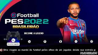 FOOTBALL 2022 PPSSPP ANDROID COM BRASILEIRÃO A.B KITS 2022